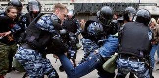 detenidos en Rusia