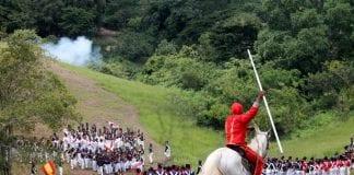 escenificación Batalla de Carabobo