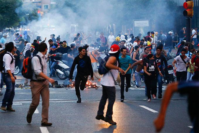protesta personas