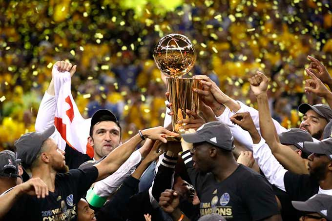 ¡Campeón! Los Warriors se quedaron con el deseado anillo de la NBA