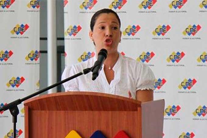 Tania D' Amelio: venezolanos en el extranjero no podrán votar para elegir la ANC