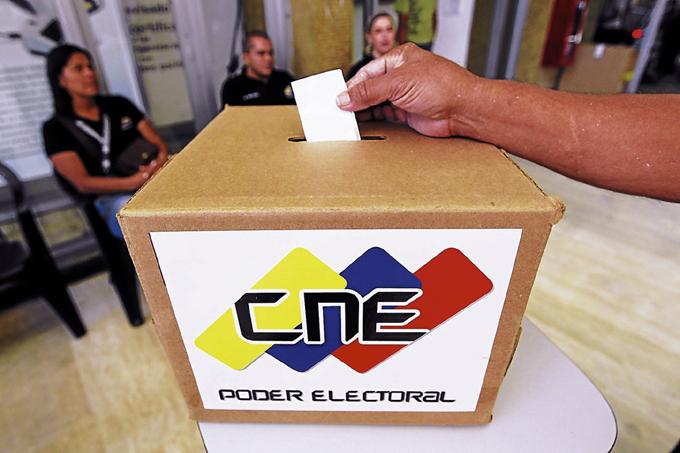 Proceso de votación del 30 de julio