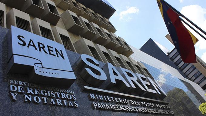 Saren Registro