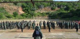 ejercicio militar