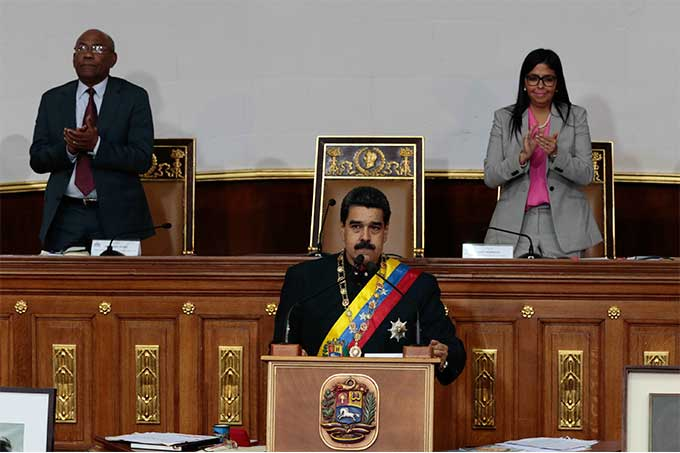 Maduro ratificó