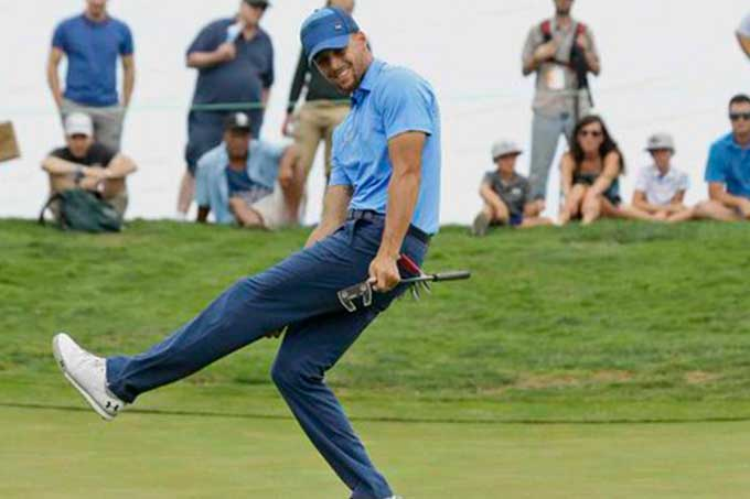 ¡Multifacético! Stephen Curry debutó en torneo profesional de golf