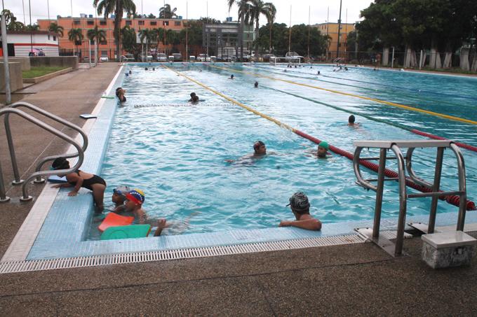 Fundadeporte tiene a punto rehabilitaci n de piscina semi for Rehabilitacion en piscina