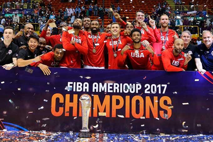 Estados Unidos es el nuevo campeón de la AmeriCup FIBA 2017