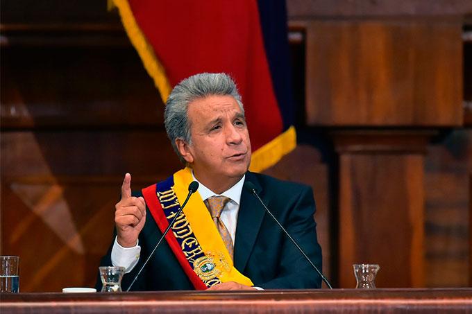 Lenin Moreno Ecuador Presidente