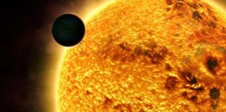 extraño planeta