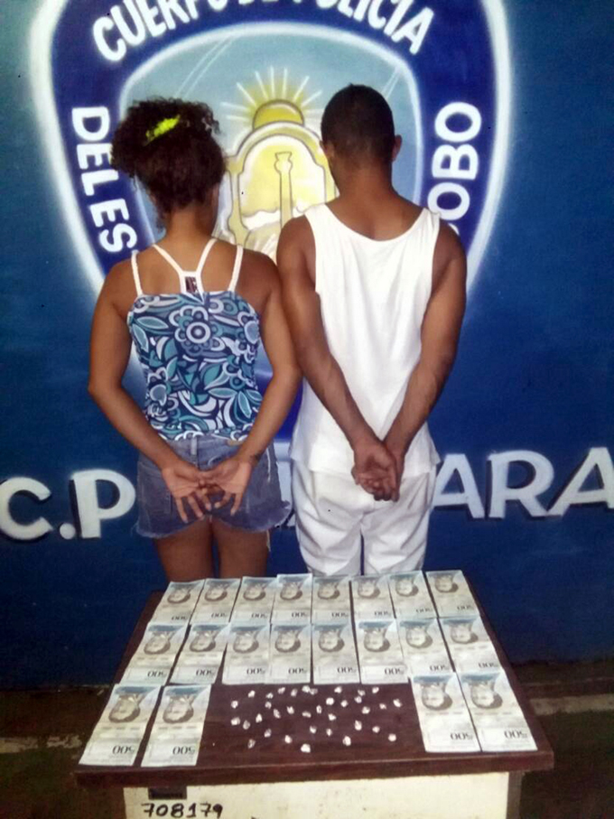 PoliCarabobo capturó a pareja de microtraficantes en Guacara