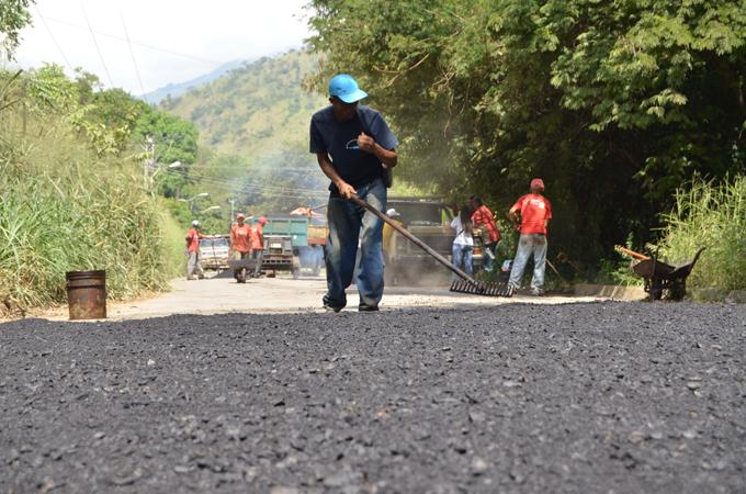 asfalto Gobierno