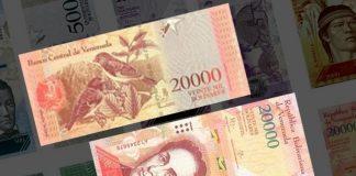 billetes bolívares liquidez monetaria