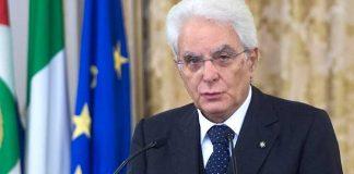 Sergio Mattarella Italia