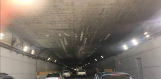 túnel Boquerón II, ubicado en la autopista Caracas-La Guaira, se encuentran en excelentes condiciones tras trabajos realizados desde este viernes.