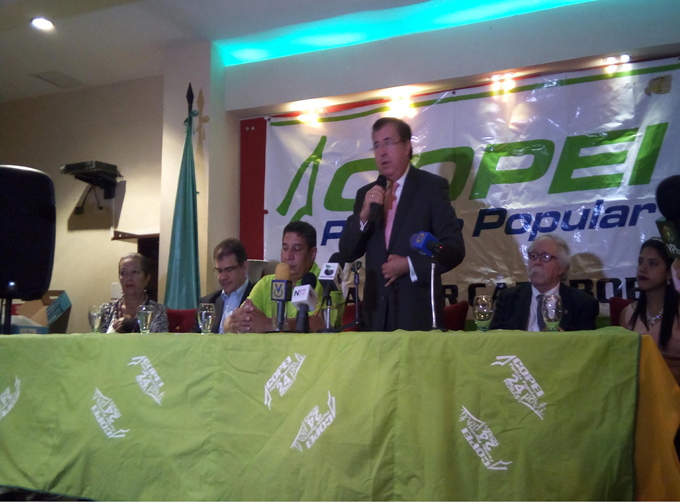 Copei apuesta por el mecanismo del consenso para elegir al candidato presidencial