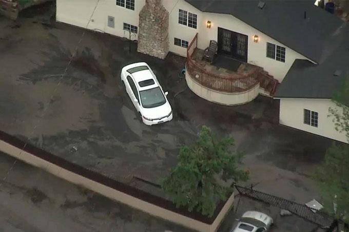 California: 13 fallecidos dejó riadas y deslaves causados por fuertes lluvias
