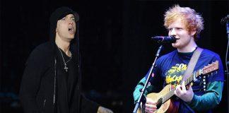 Eminem y Ed Sheeran
