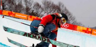 Esquiadora