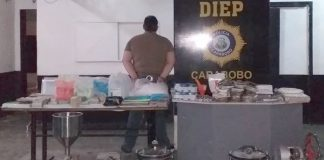noticias24carabobo-¡Caídos! Detenidos personas en laboratorio clandestino desmantelada en Valencia