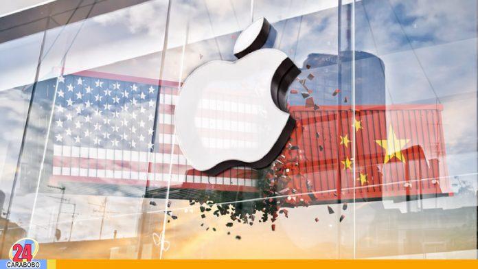 Apple - guerra comercial entre EEUU y China - Noticias 24