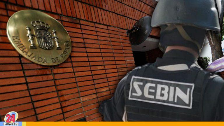 Residencia del embajador de España es asediada por funcionarios del Sebin