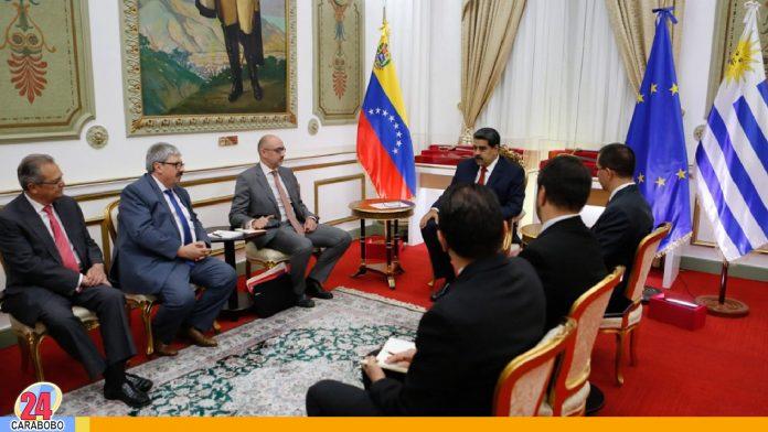 noticias24carabobo - Gobierno y Grupo de Contacto, reunión sobre problemáticas en Venezuela