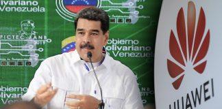 noticias24carabobo- Maduro y Huawei se unen a pesar de las sanciones impuestas por EE UU
