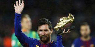 noticias24carabobo-Messi gana su sexto Botín de Oro y suma uno para su colección