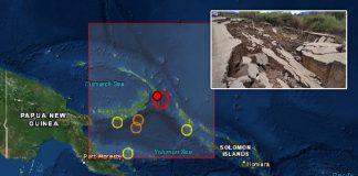 Nueva Guinea - terremoto - Tsunami - Noticias 24