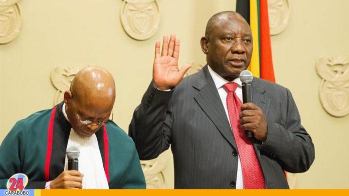 noticias24carabobo-Nuevo Mandatario en Sudáfrica, Ramaphosa es elegido como presidente