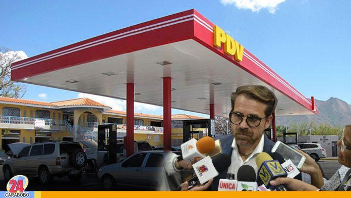 Lacava garantiza suministro gasolina - Noticias 24 Carabobo
