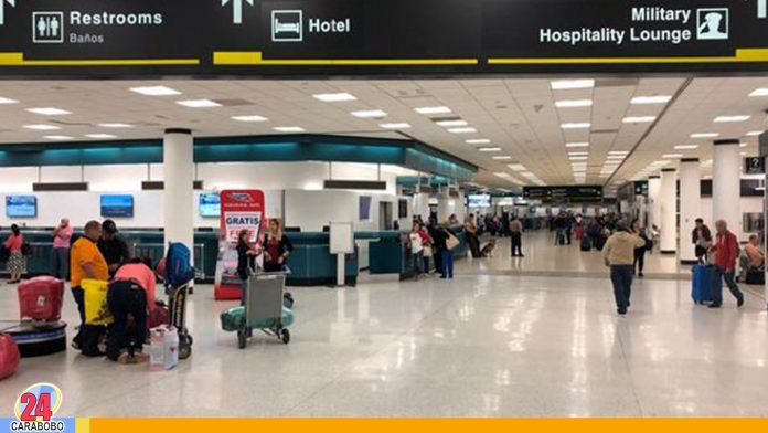 pasajeros entre Estados Unidos y Venezuela - noticias24 carabobo