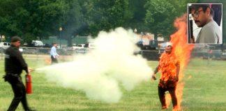 noticias24carabobo- Arnav-Gupta-muere-luego-de-incendiarse-frente-a-la-Casa-Blanca
