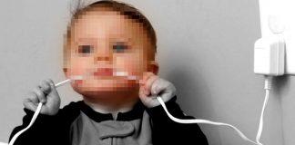 noticias24carabobo-N24-Niña-murió-electrocutada-al-chupar-cargado-de-celular-enchufado