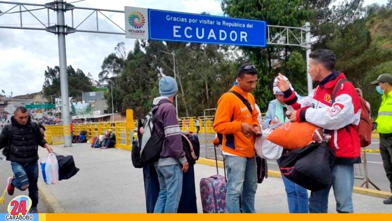 Según OIM Venezolanos en Ecuador cobran menos del salario mínimo