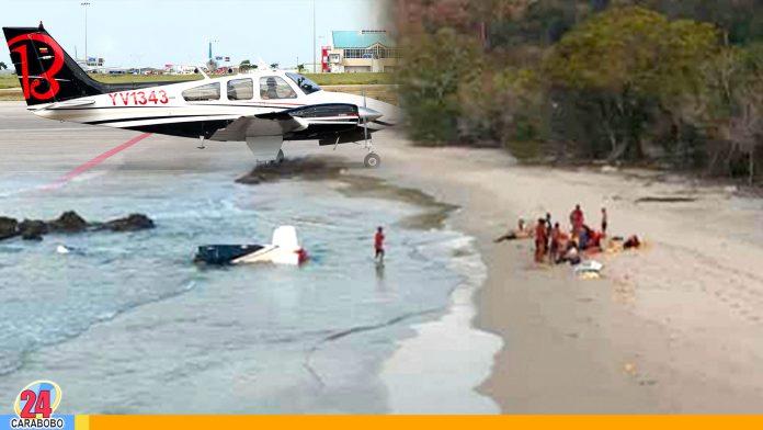 WEB-N24-Tripulantes-de-avioneta-desaparecida-fueron-rescatados-por-unos-pescadores- noticias 24 carabobo