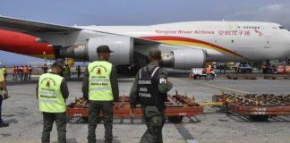 ayuda humanitaria de China