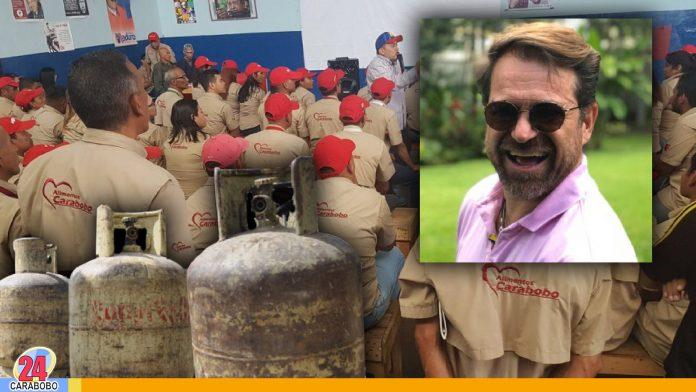 noticias24carabobo-¡Contra las mafias! Alimca nuevo responsable del gas en Carabobo