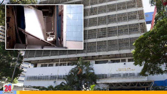 ABC en el J.M de los Ríos demuestra sus precarias condiciones - noticias 24 carabobo