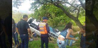 Accidente en la autopista Regional del Centro- Noticias24Carabobo