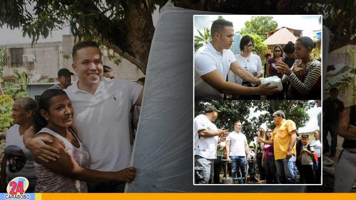 N24C - El Alcalde de Naguanagua; entregó varias ayudas técnicas a la comunidad de Shaday del Norte. Entre estos equipos entregados.......