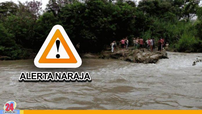 noticias24carabobo-Alerta-naranja-ante-la-crecida-de-ríos-en-los-estados-Apure,-Táchira-y-Zulia--WEB-N24