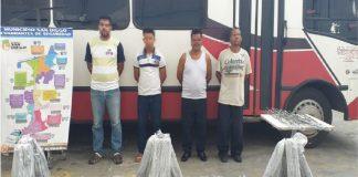 Detenidos en San DIego por cargar con 100 metros de guayas de tendido electrico - Noticias 24 Carabobo