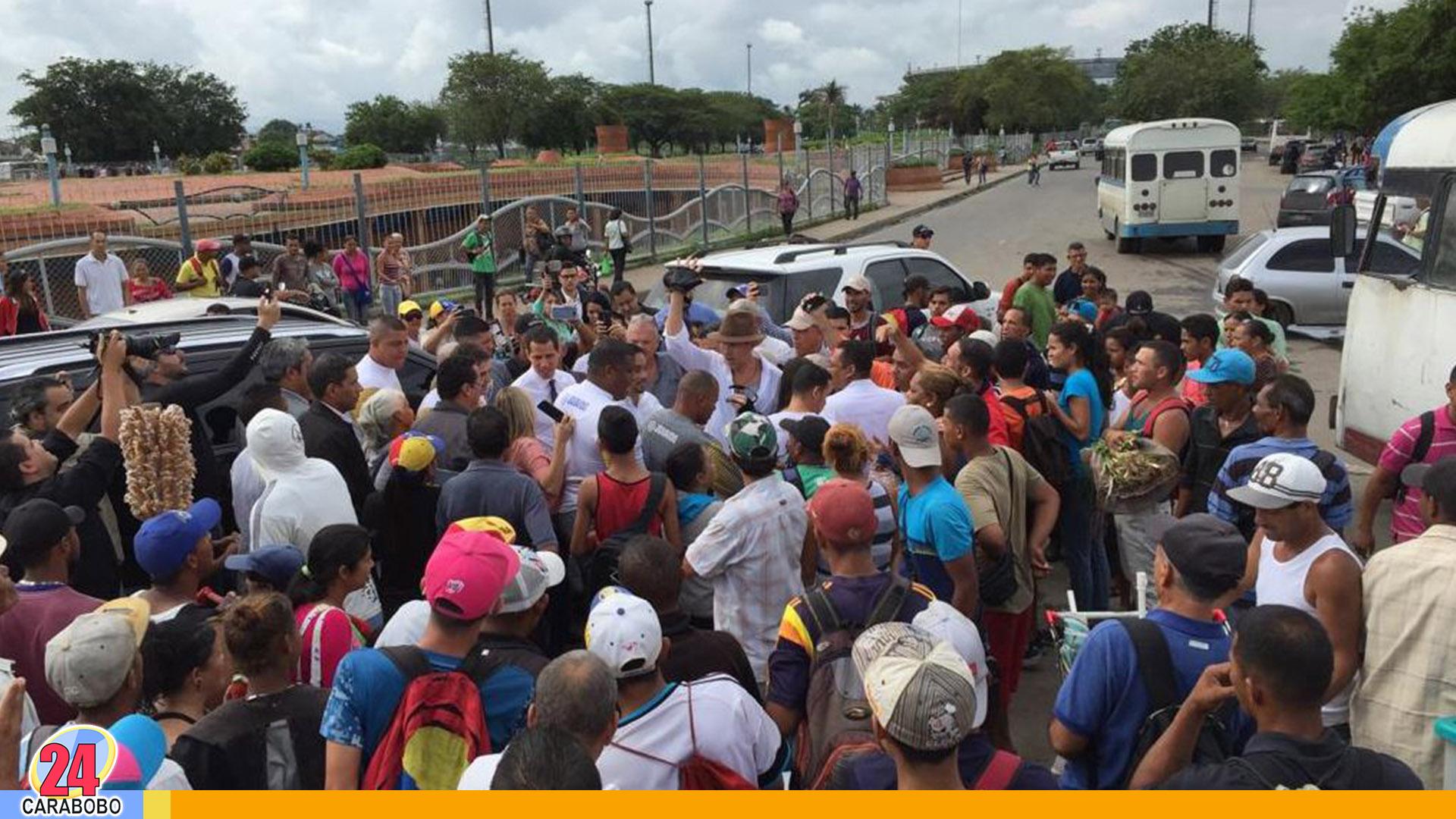 Guadó en Valencia hoy viernes en la Plaza Santa Rosa 2 - Noticias 24 Carabobo