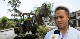 N24C - Gutiérrez aseguró; que se han intensificado las limpiezas de drenajes en este primer trimestre del año.............