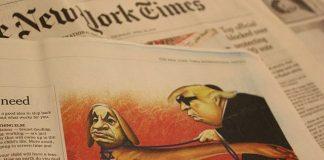 4C - Donald Trump; acusó al diario The New York Times de un acto de traición a la patria.Luego que este diario publicará el sábado que este país.....