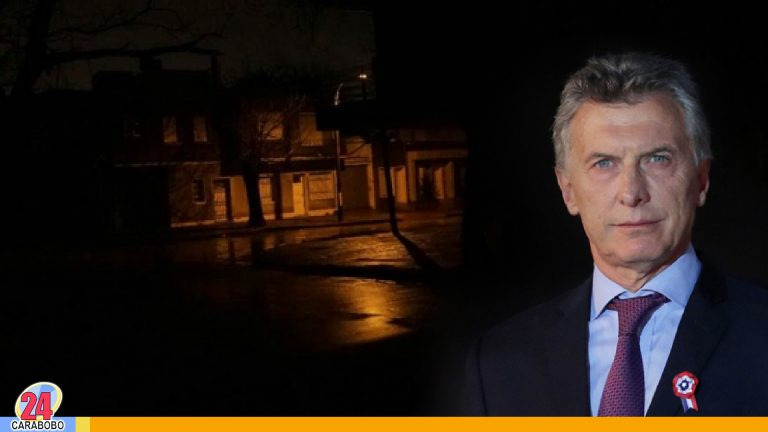 Mauricio Macri se pronuncia ante apagón en Argentina y Uruguay