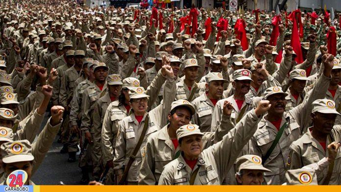 N24C - El Presidente de la República Maduro resaltó que quiere totalmente armados a los milicianos; y espera que para el año 2021