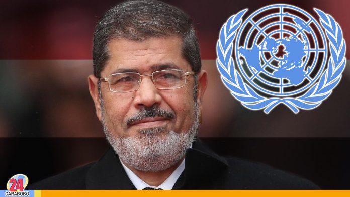 noticias24carabobo-ONU piden investigar muerte de Muhamad Mursi